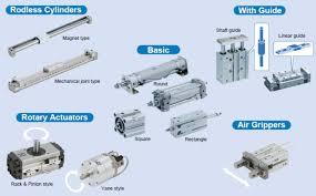 Smc Pneumatic Actuators